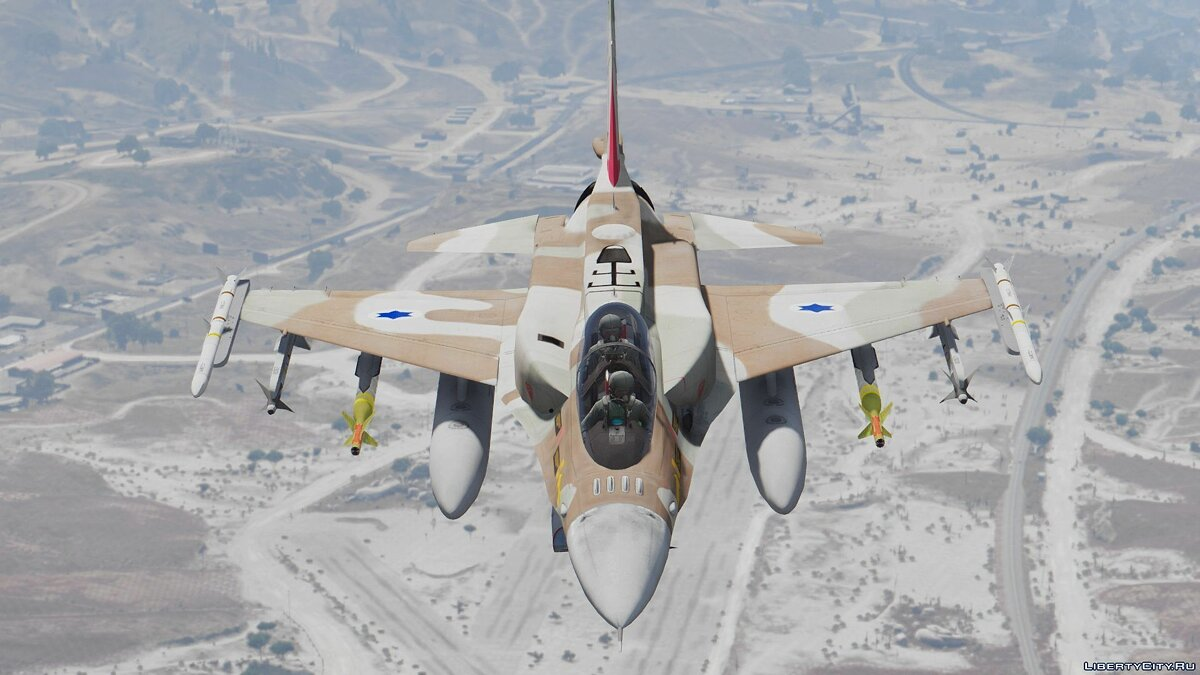 F-16I Sufa (Israeli Air Force) [Add-On] для GTA 5