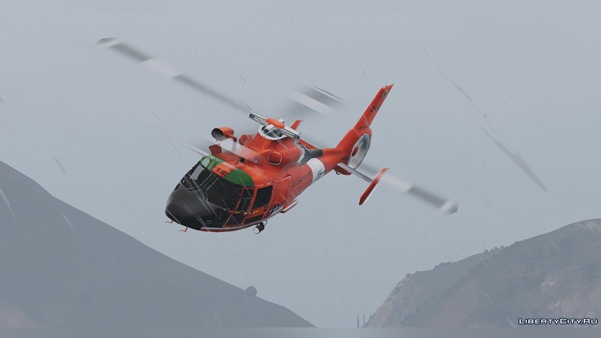 Eurocopter MH-65 Dolphin US Coast Guard [Replace] 1.0 для GTA 5 - скриншот #2