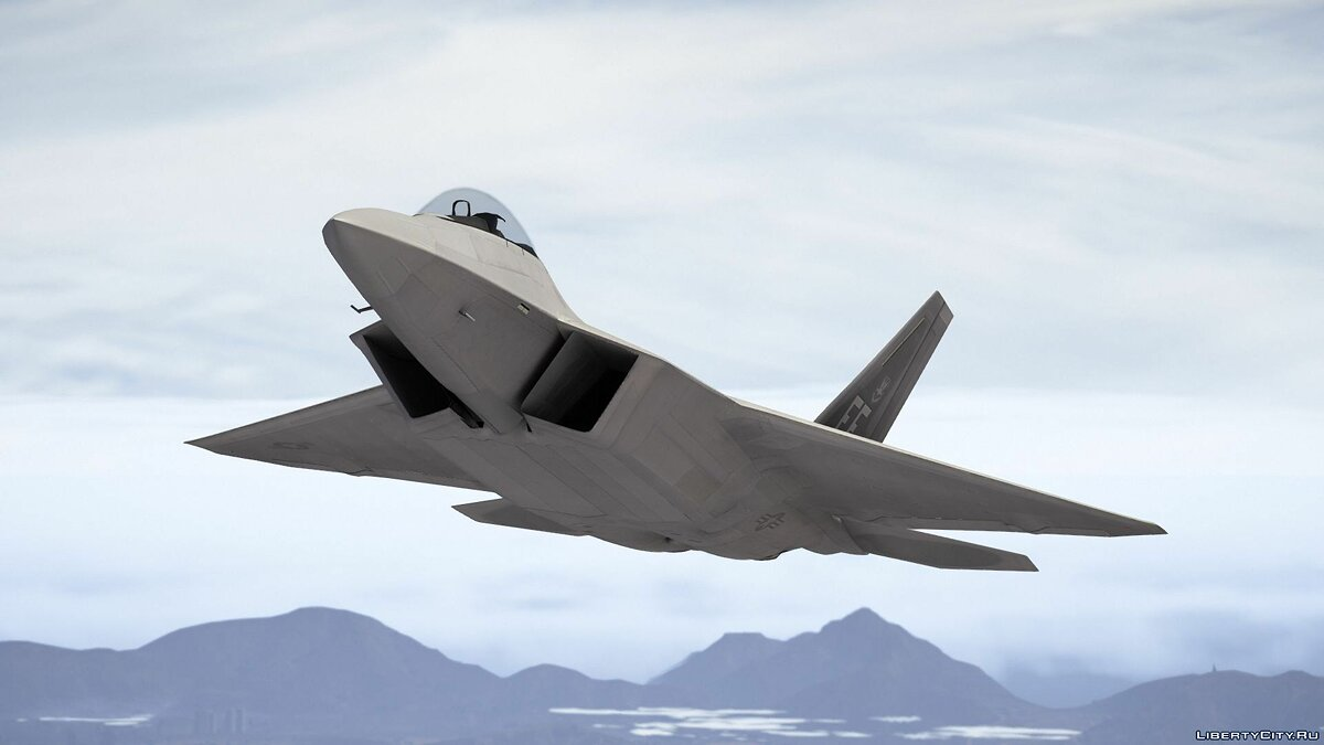 F-22 Raptor [Add-On] 1.7 для GTA 5