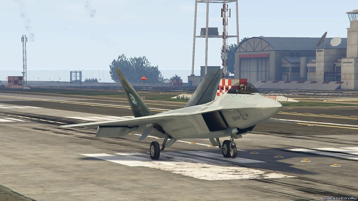 F-22 Raptor [Add-On] 1.7 для GTA 5 - скриншот #8