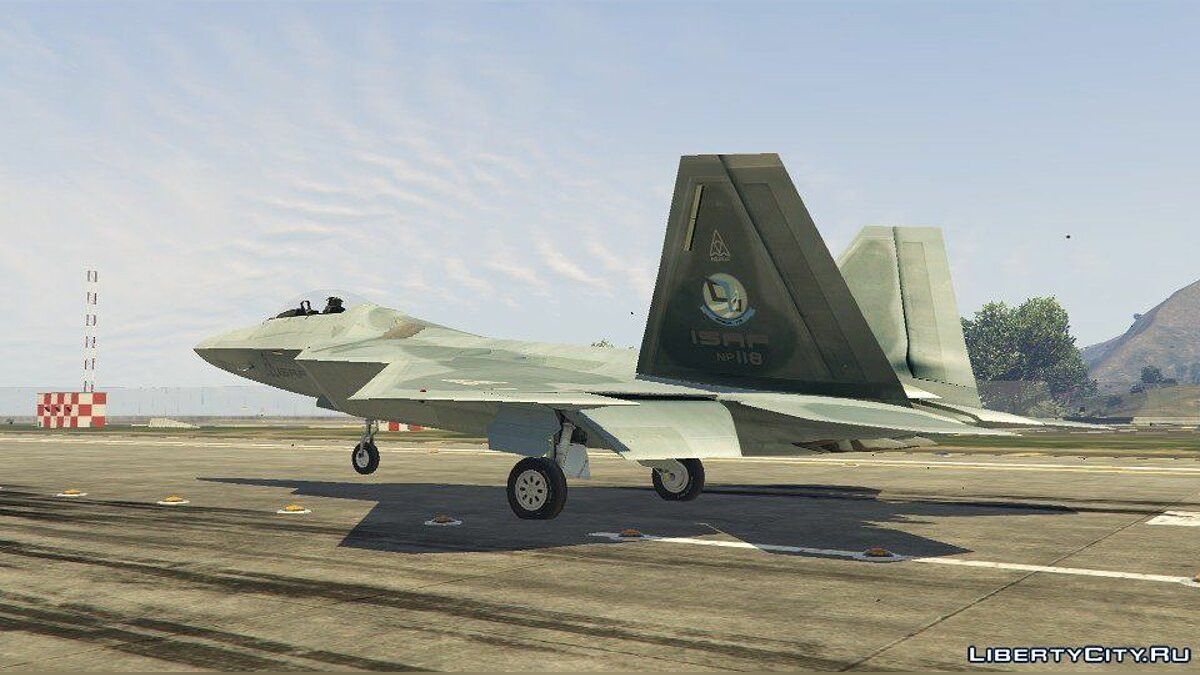 F-22 Raptor [Add-On] 1.7 для GTA 5 - скриншот #10