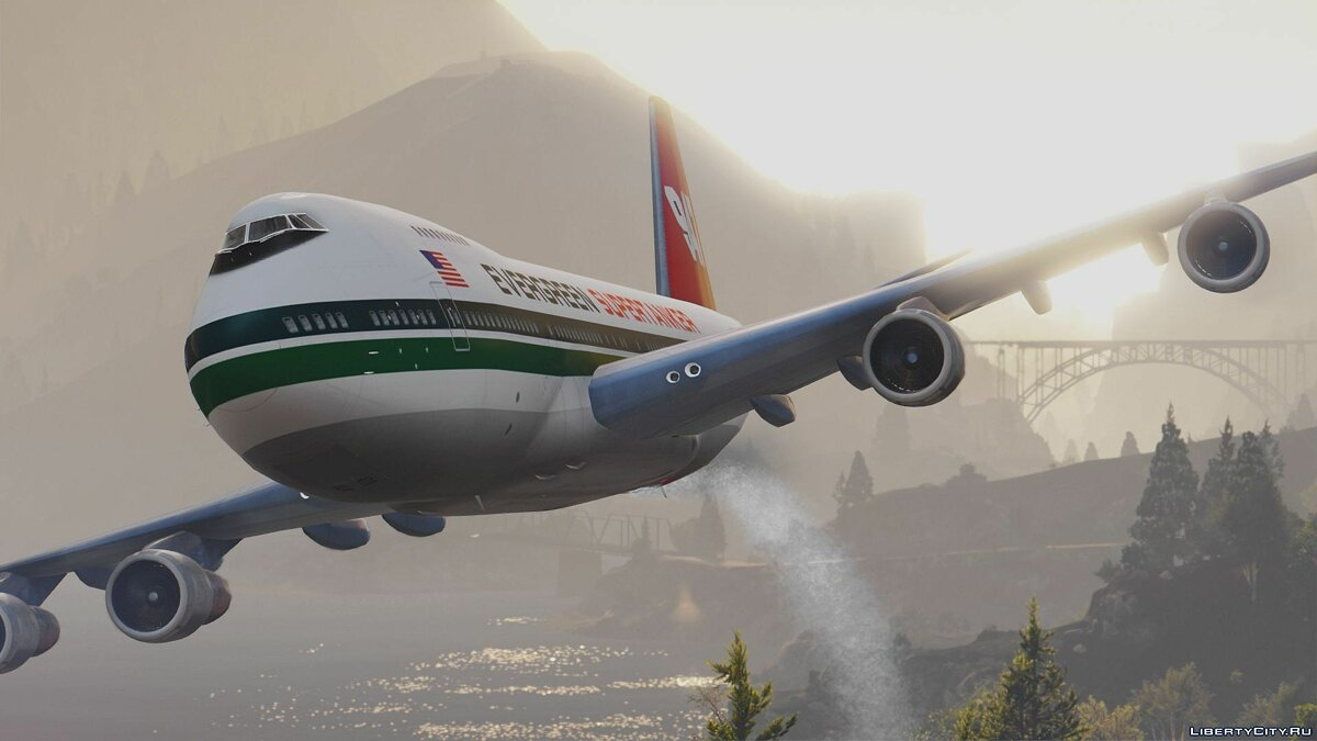 Boeing 747-200 Supertanker Firefighting Aircraft [Add-On] для GTA 5