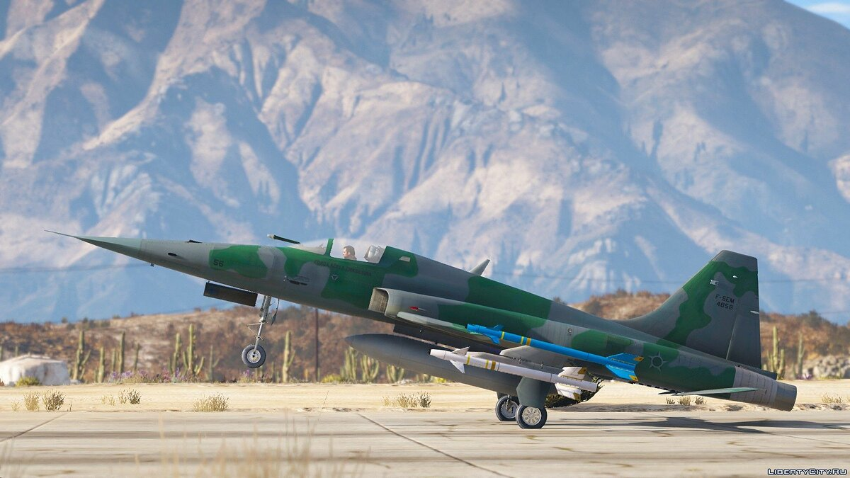 F-5EM Brazilian Air Force [Add-On] для GTA 5