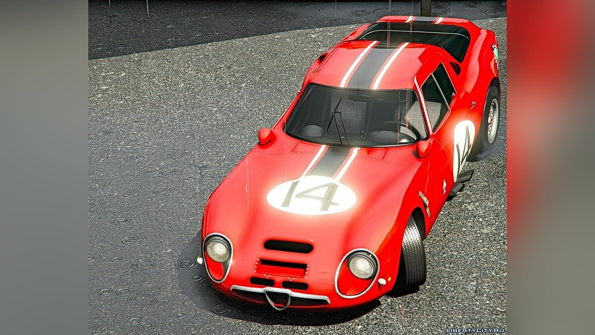 Машина Alfa Romeo 1965 Alfa Romeo Giulia TZ2 [Add-On | Extras | Template] 1.0 для GTA 5