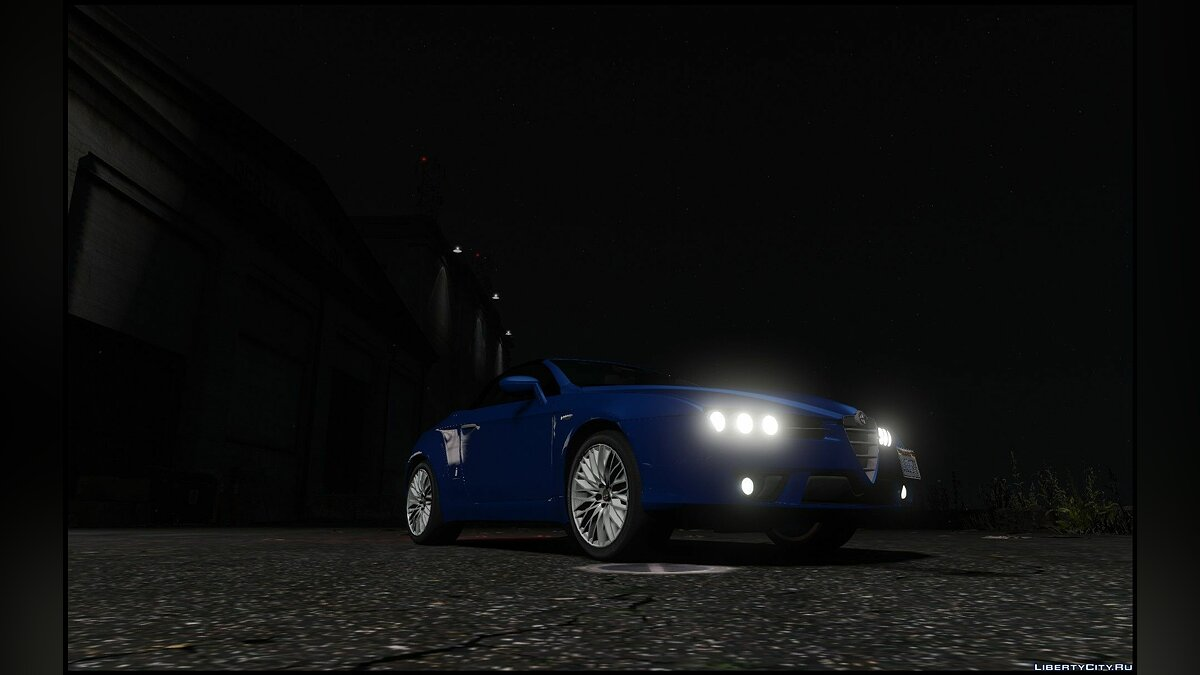 ��ашина Alfa Romeo Alfa Romeo Spider 939 (Brera) [Add-On / Replace] 1.0 для GTA 5