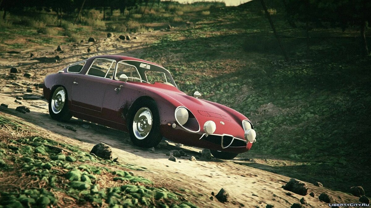 Машина Alfa Romeo 1963 Alfa Romeo Giulia TZ [Add-On / Replace] 1.0 для GTA 5