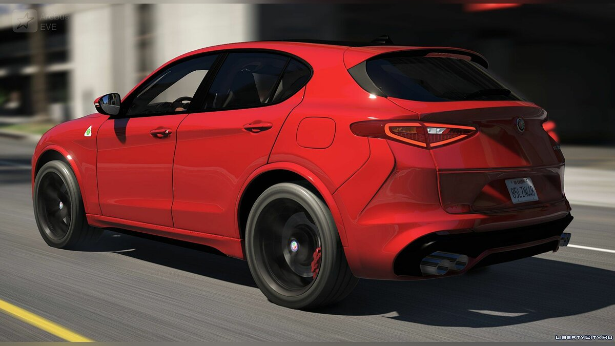 Машина Alfa Romeo Alfa Romeo Stelvio Quadrifoglio 2018 [Add-On] 1.0 для GTA 5