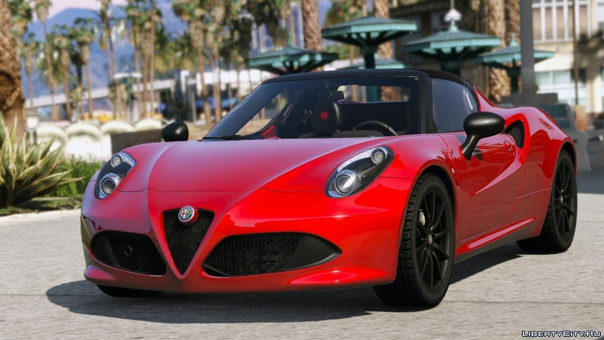 2015 Alfa Romeo 4c Spider [Add-On] для GTA 5
