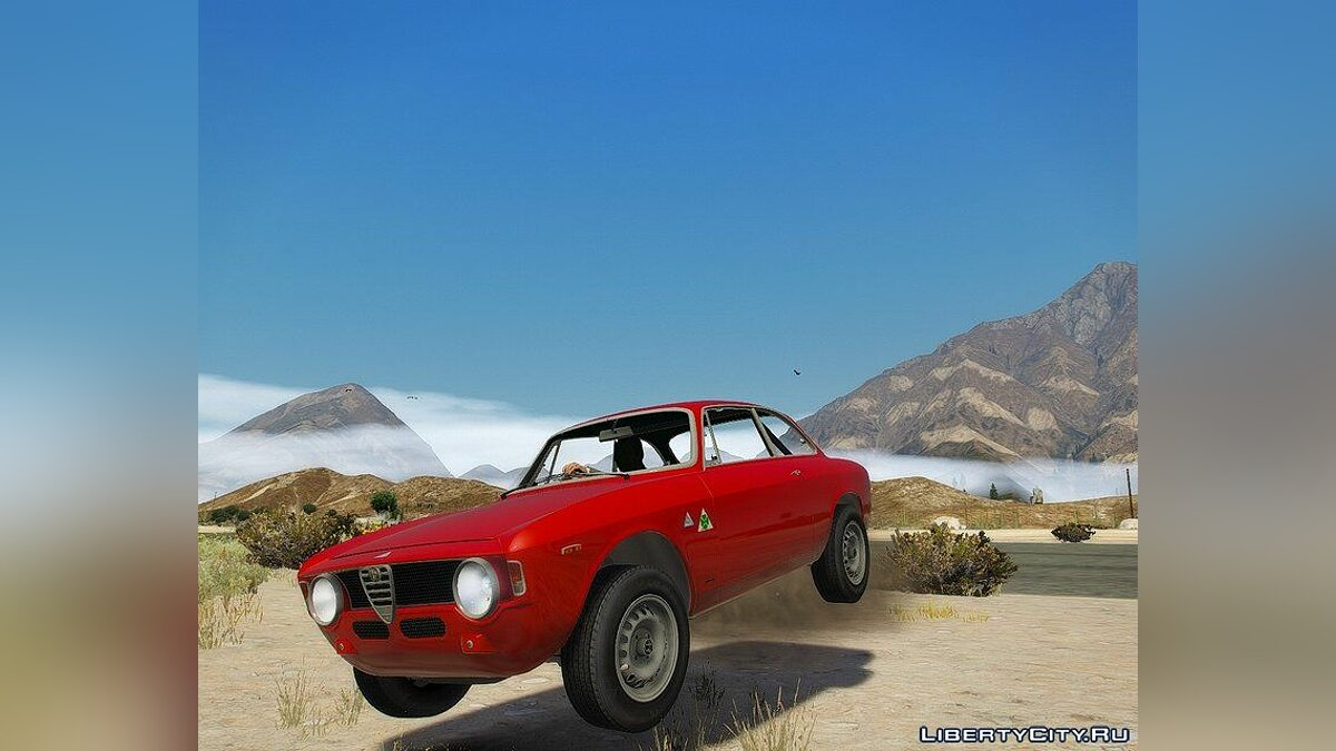 Машина Alfa Romeo 1966 Alfa Romeo GTA [Add-On] для GTA 5