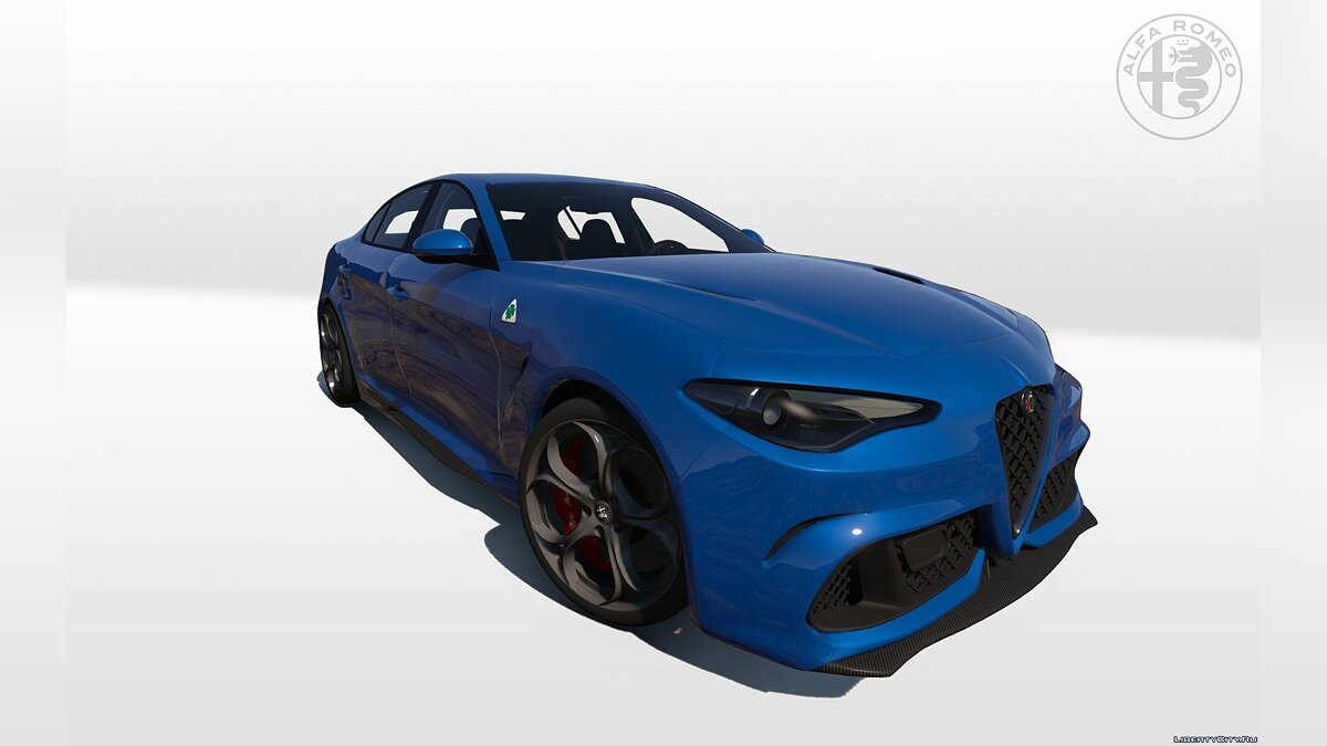 ��ашина Alfa Romeo 2016 Alfa Romeo Giulia Quadrifoglio [Add-On | Livery | HQ] 1.0 для GTA 5