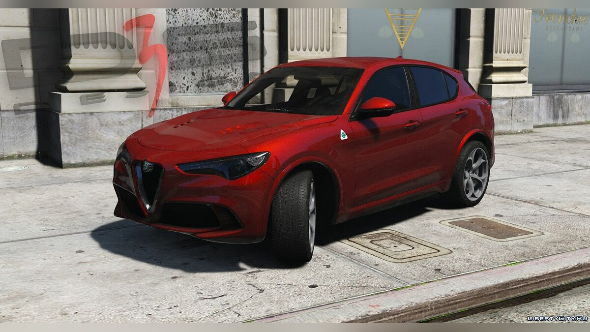 Машина Alfa Romeo Alfa Romeo Stelvio Quadrifoglio (949) '2017 [Add-On | AO | Template] 1.0 для GTA 5