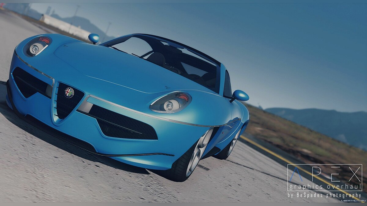 ��ашина Alfa Romeo 2013 Alfa Romeo Disco Volante by Touring Superleggera [Add-On | HQ] 1.0 для GTA 5