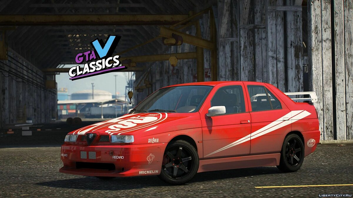 Машина Alfa Romeo 1992 Alfa Romeo 155 Q4 [Add-On | LODs | Template | Tuning] 1.0 для GTA 5