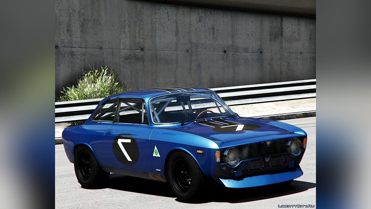 Машина Alfa Romeo Alfa Romeo Giulia Sprint 1965 [Add-On | Extras Template] 1.1 для GTA 5