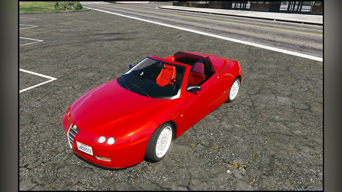 ��ашина Alfa Romeo Alfa Romeo Spider 916 [Add-On / Replace] 1.2 для GTA 5