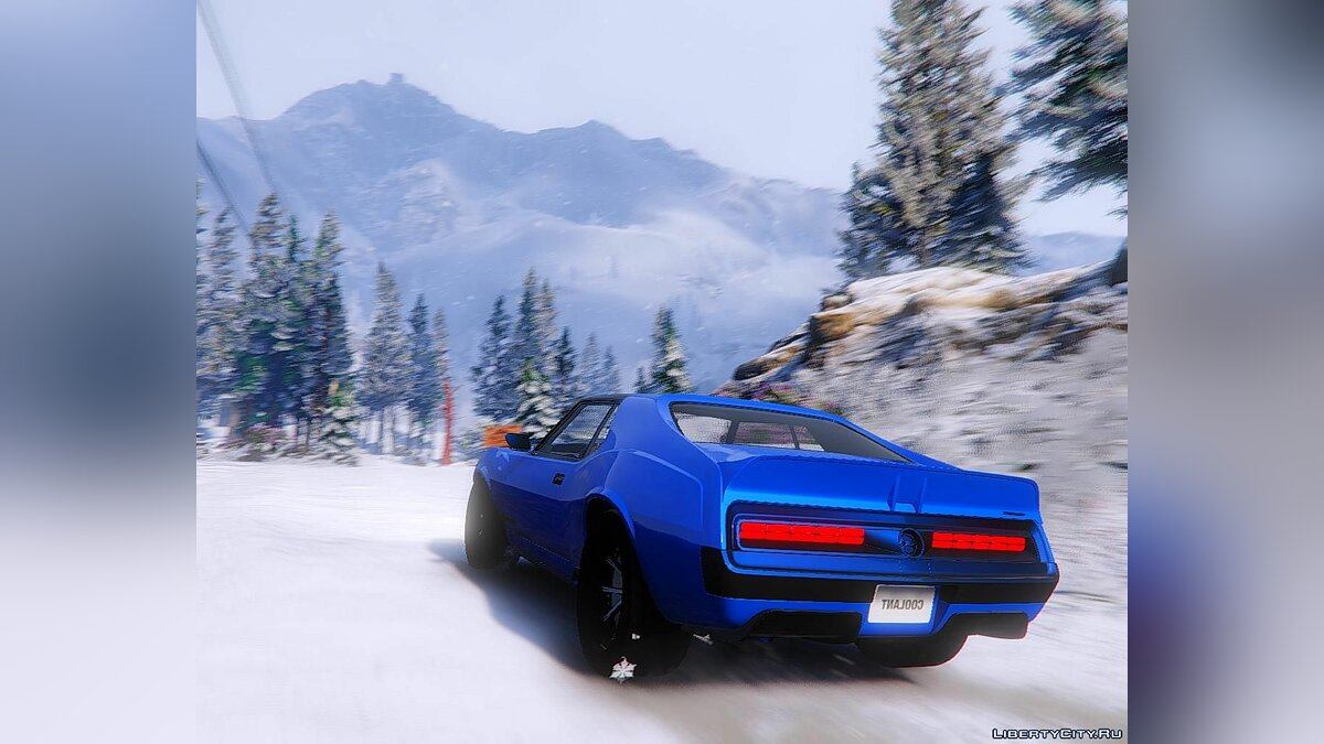 Машина AMC 1972 AMC Javelin Ringbrothers Defiant [Add-On] 1.0 для GTA 5