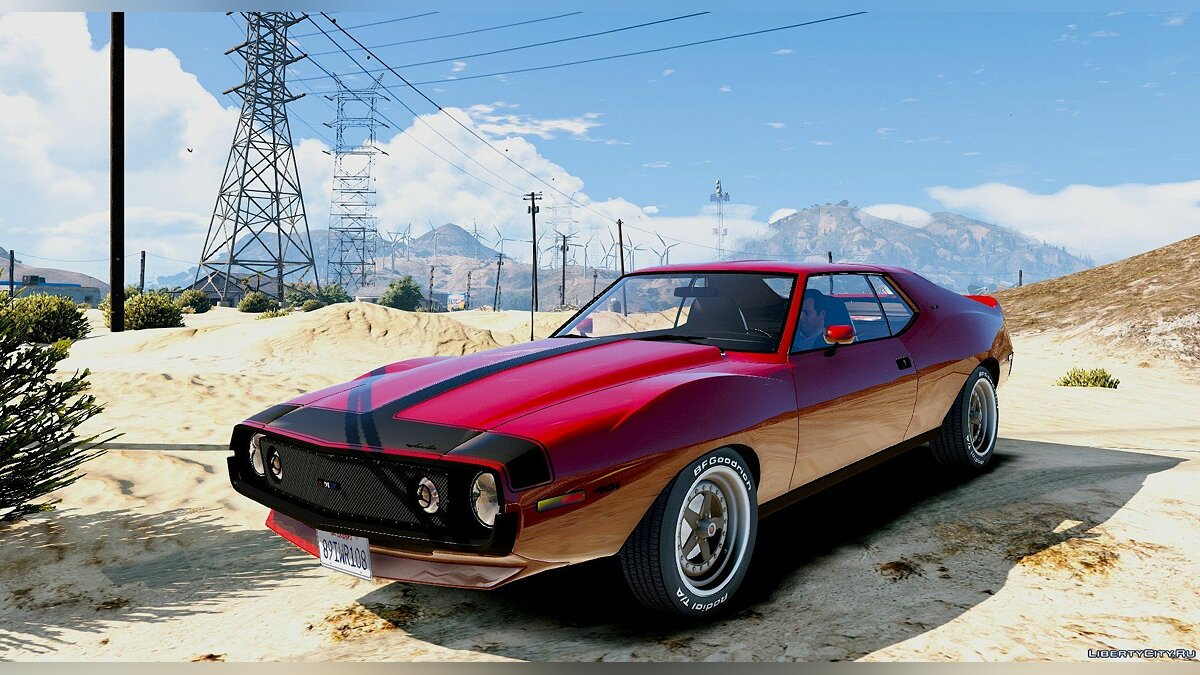 ��ашина AMC AMC Javelin AMX 401 1971 [Add-On / Replace] 1.0 для GTA 5