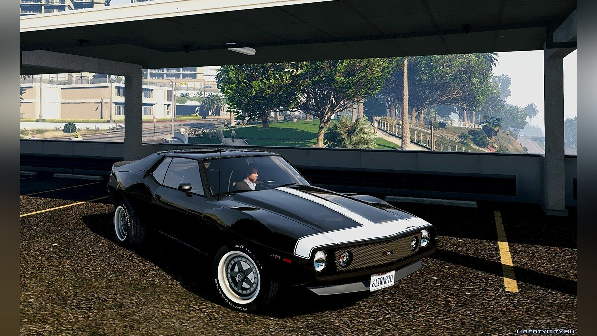 Машина AMC AMC Javelin AMX 401 1971 [Add-On / Replace] 1.0 для GTA 5