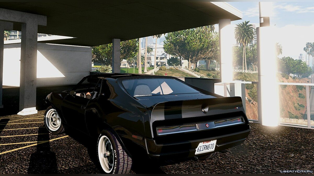AMC Javelin AMX 401 1971 [Add-On / Replace] 1.0 для GTA 5 - скриншот #6