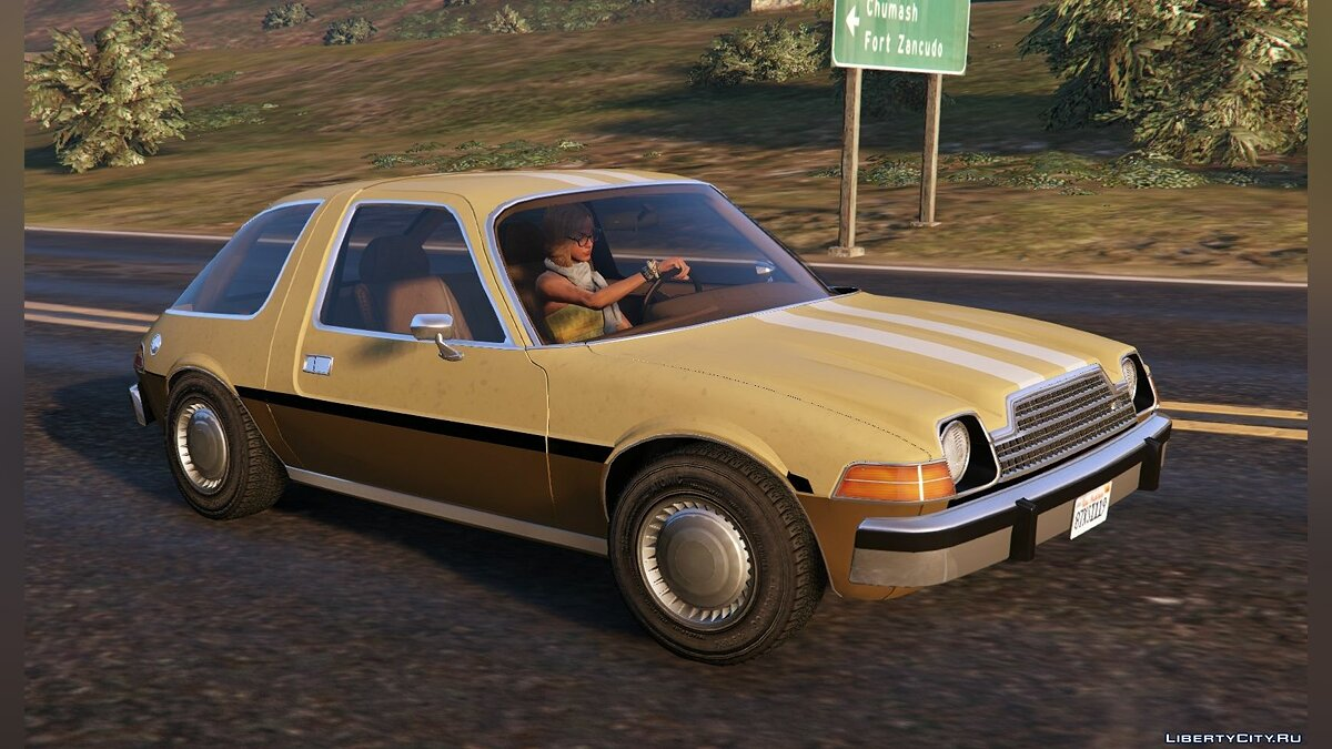 Машина AMC AMC Pacer 1976 [Add-On / Replace | Tuning | Livery] 1.2 для GTA 5