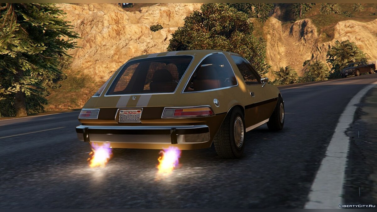 AMC Pacer 1976 [Add-On / Replace | Tuning | Livery] 1.2 для GTA 5 - скриншот #6