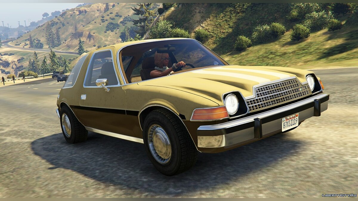 AMC Pacer 1976 [Add-On / Replace | Tuning | Livery] 1.2 для GTA 5 - скриншот #7