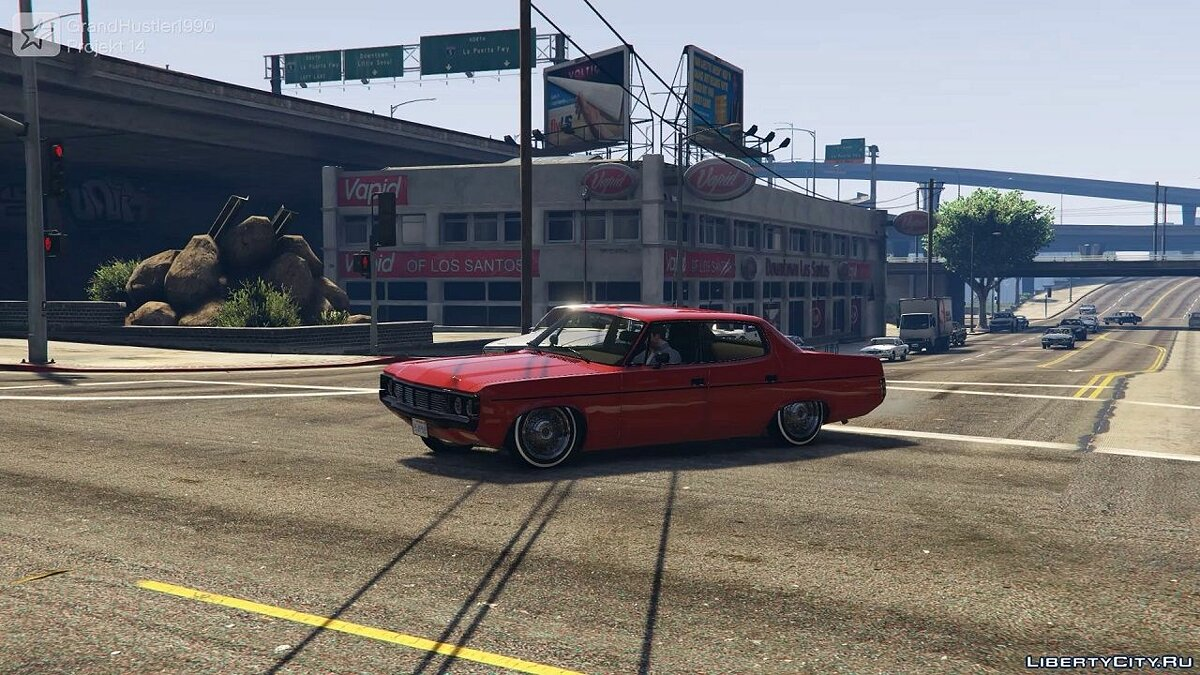 ��ашина AMC 1972 AMC Matador No Chrome (Handling + Sound) для GTA 5