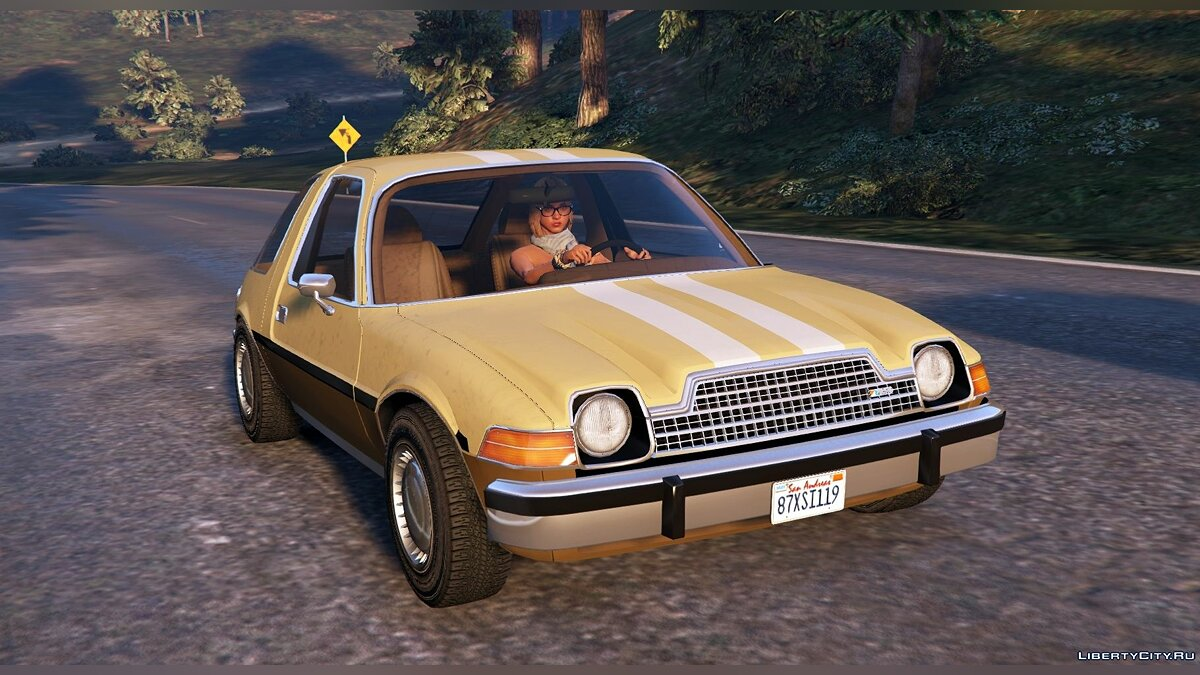 ��ашина AMC AMC Pacer [Add-On / Replace | Tuning | Livery] 1.33 для GTA 5