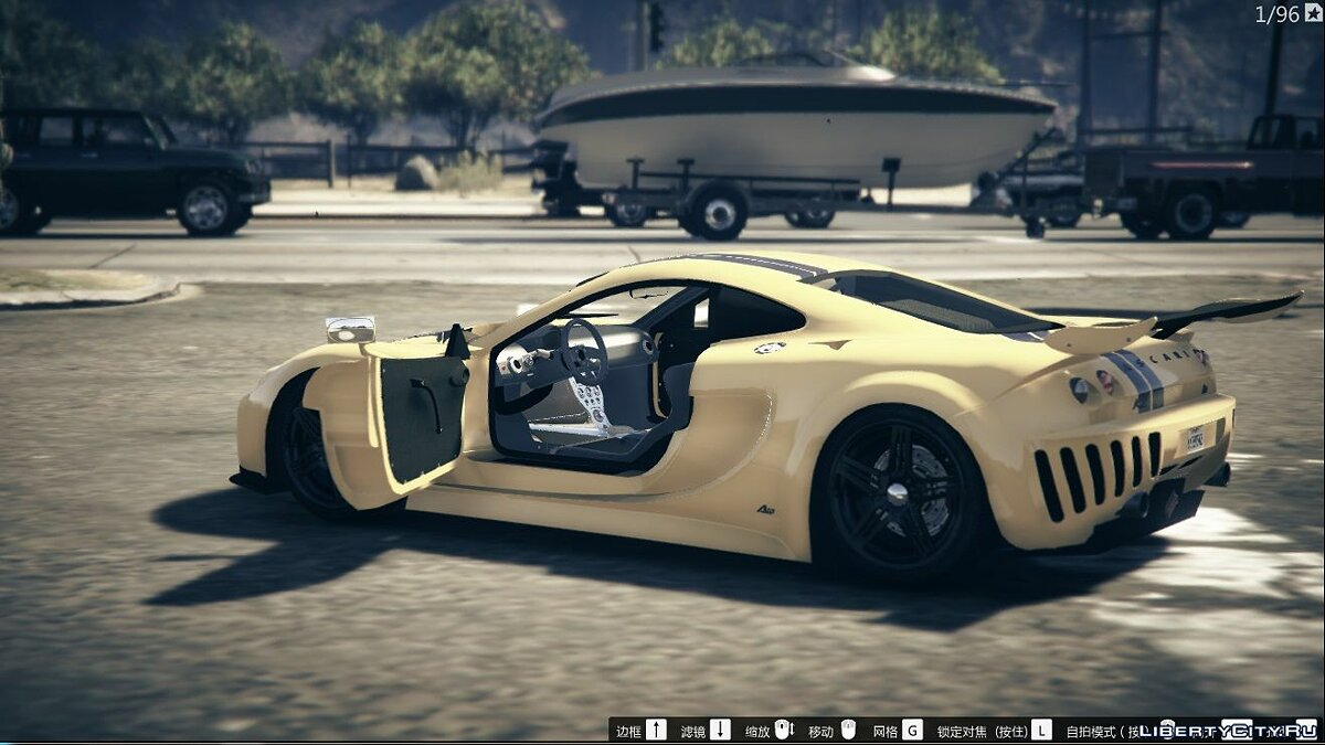 Машина Ascari Ascari A10 [Add-On] 1.0 для GTA 5