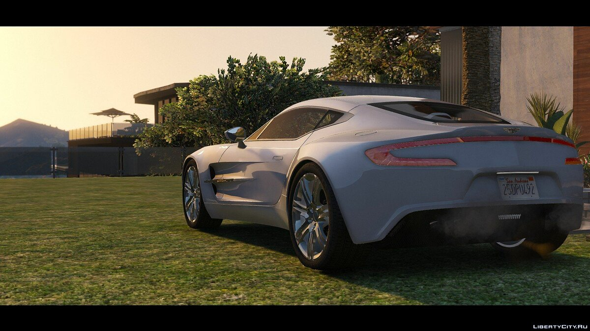 2012 Aston Martin One-77 [HQ | Autospoiler | Tunable | DirtMap] v1.0 для GTA 5 - скриншот #5