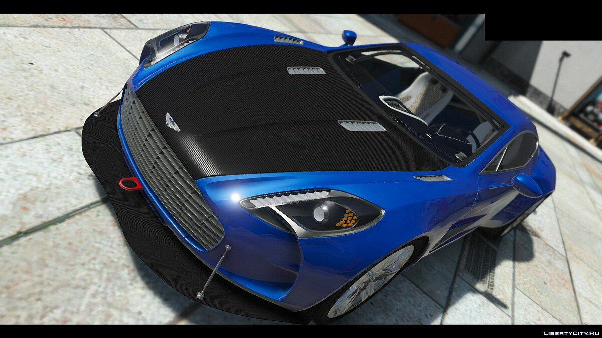 2012 Aston Martin One-77 [HQ | Autospoiler | Tunable | DirtMap] v1.0 для GTA 5 - скриншот #10