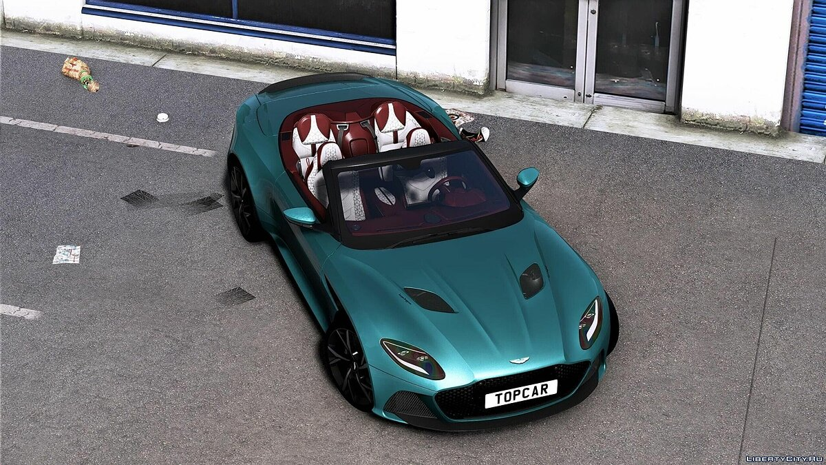 Машина Aston Martin 2019 Aston Martin DBS Superleggera Volante [Add-On] 1.0 для GTA 5