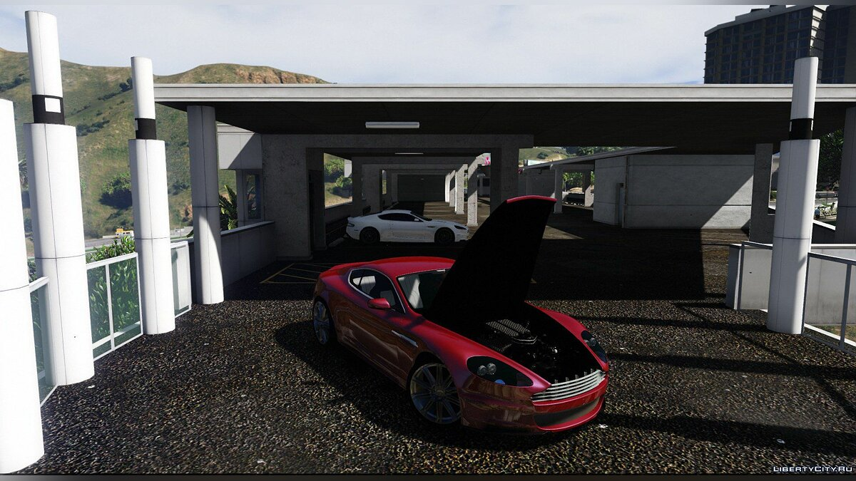 ��ашина Aston Martin Aston Martin DBS 2008 [Add-On/HQ/3D Engine] V3.0 для GTA 5