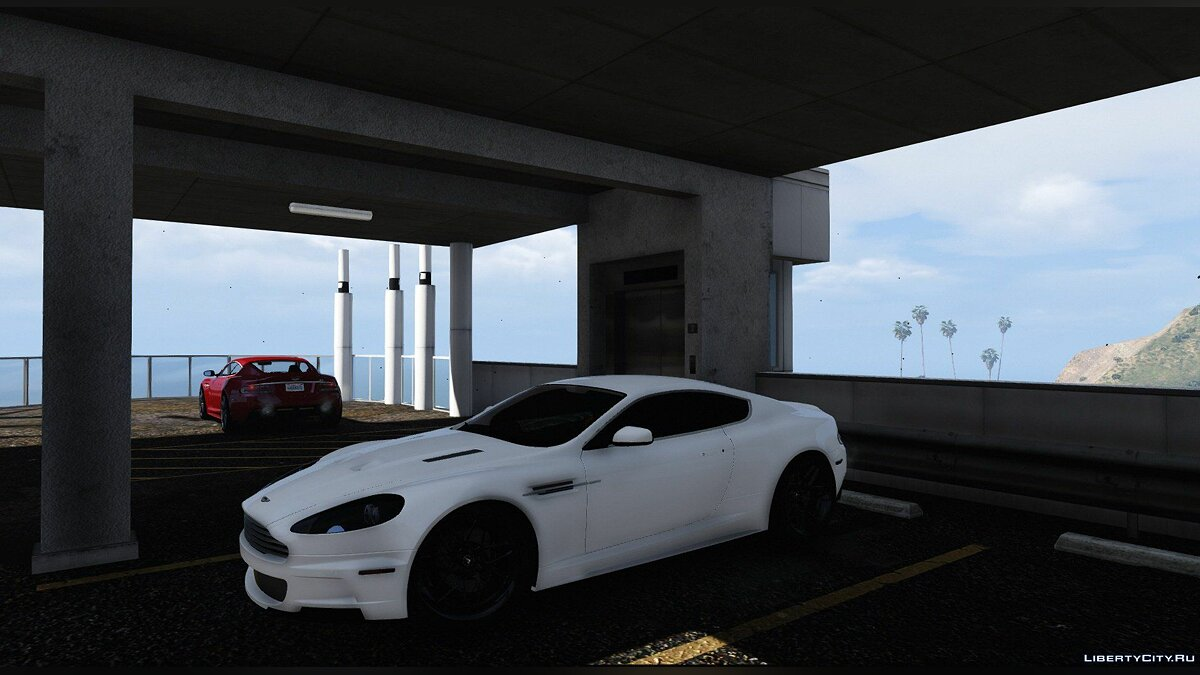 ��ашина Aston Martin Aston Martin DBS 2008 [Add-On/HQ/3D Engine] V4.0 для GTA 5