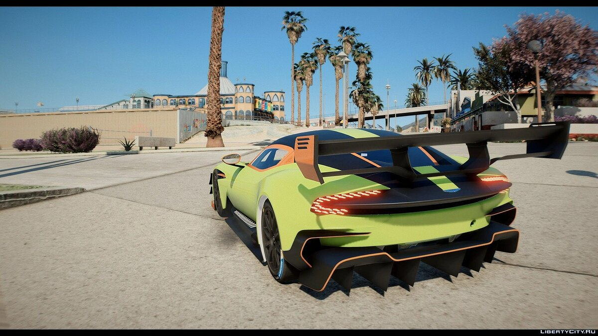 Машина Aston Martin Aston Martin Vulcan AMR Pro [Add-On] 0.5 для GTA 5