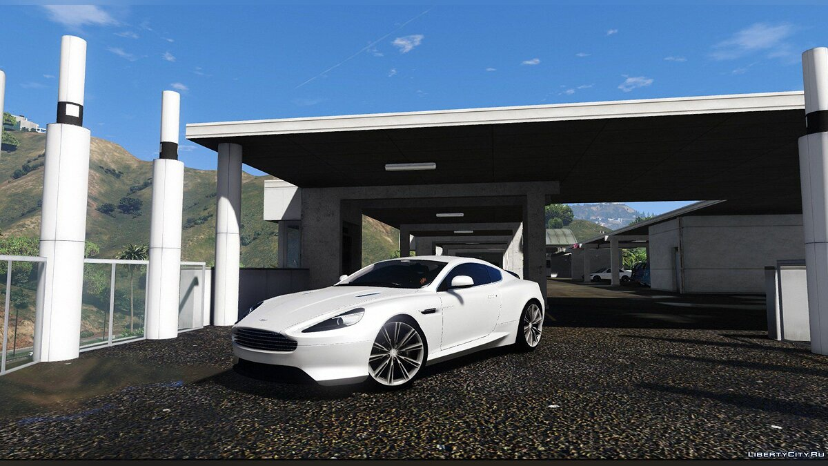 ��ашина Aston Martin Aston Martin Virage 2012 [Add-On] V1.0 для GTA 5