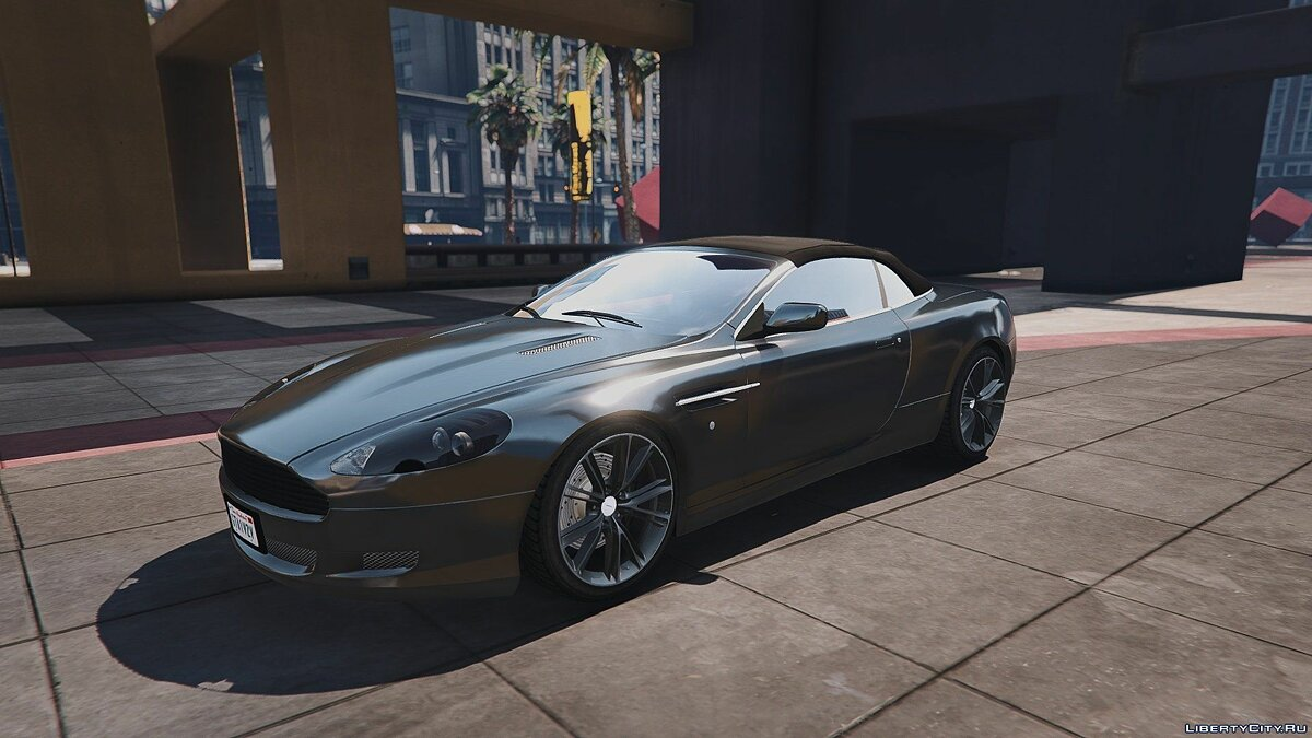 Aston Martin DB9 Volante [Add-On / Replace] 1.3 для GTA 5
