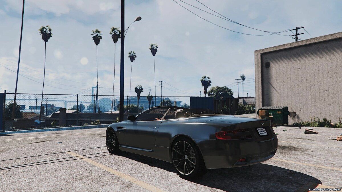 Aston Martin DB9 Volante [Add-On / Replace] 1.3 для GTA 5 - скриншот #3
