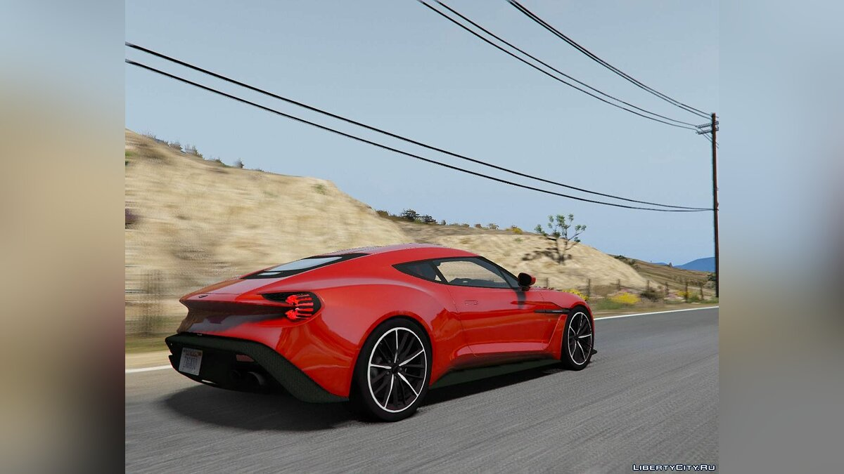 Машина Aston Martin 2017 Aston Martin Vanquish Zagato [Add-On] 1.0 для GTA 5