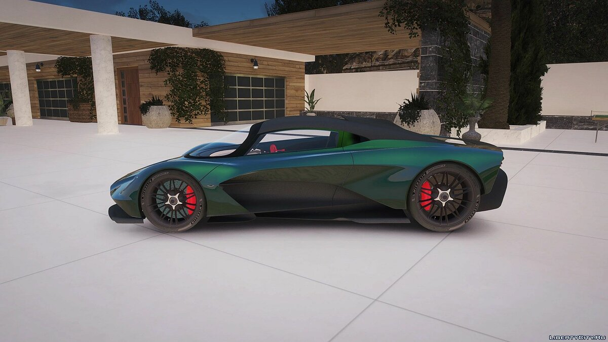 Машина Aston Martin Aston Martin Valhalla [Add-On] 0.5 для GTA 5
