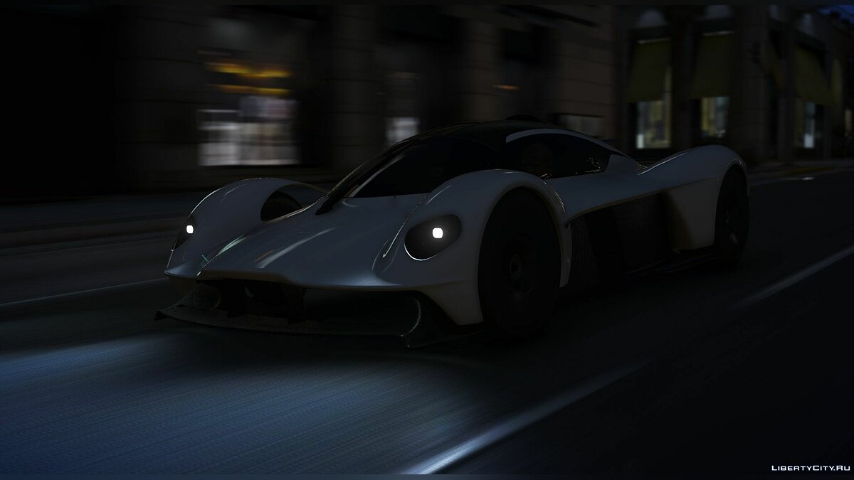 Машина Aston Martin Aston Martin Valkyrie 2018 [Add-On] 1.0 для GTA 5
