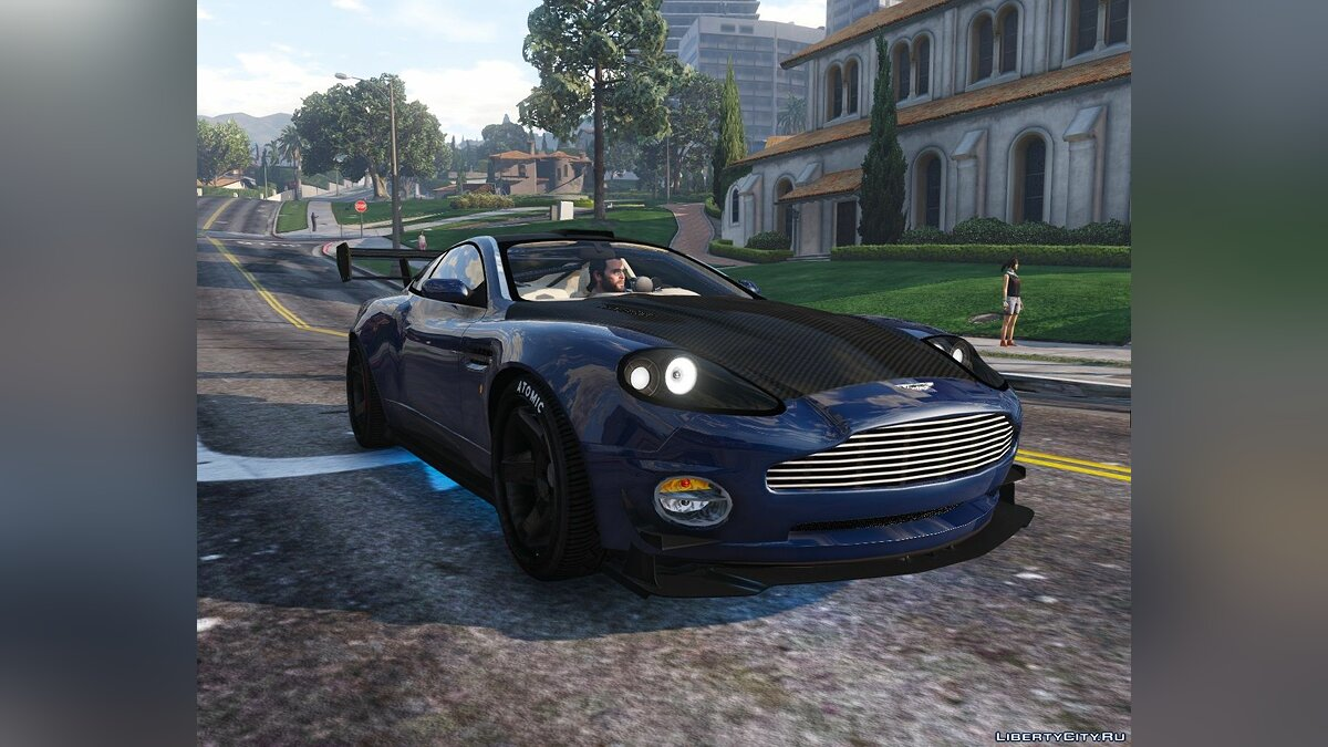 Машина Aston Martin 2001 Aston Martin V12 Vanquish [Add-On / Replace | Tuning] 2.0 для GTA 5