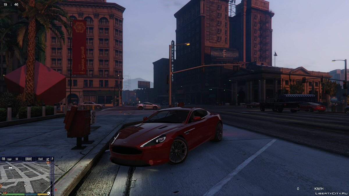 Aston Martin Virage 2010 для GTA 5