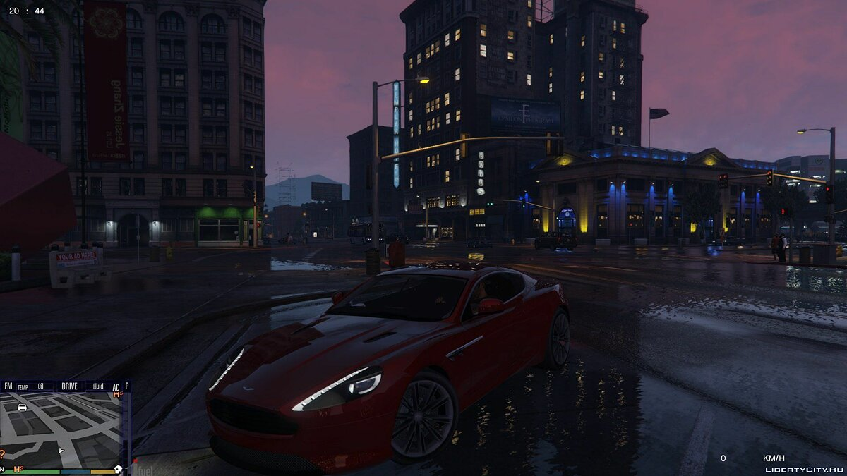 Aston Martin Virage 2010 для GTA 5 - скриншот #5
