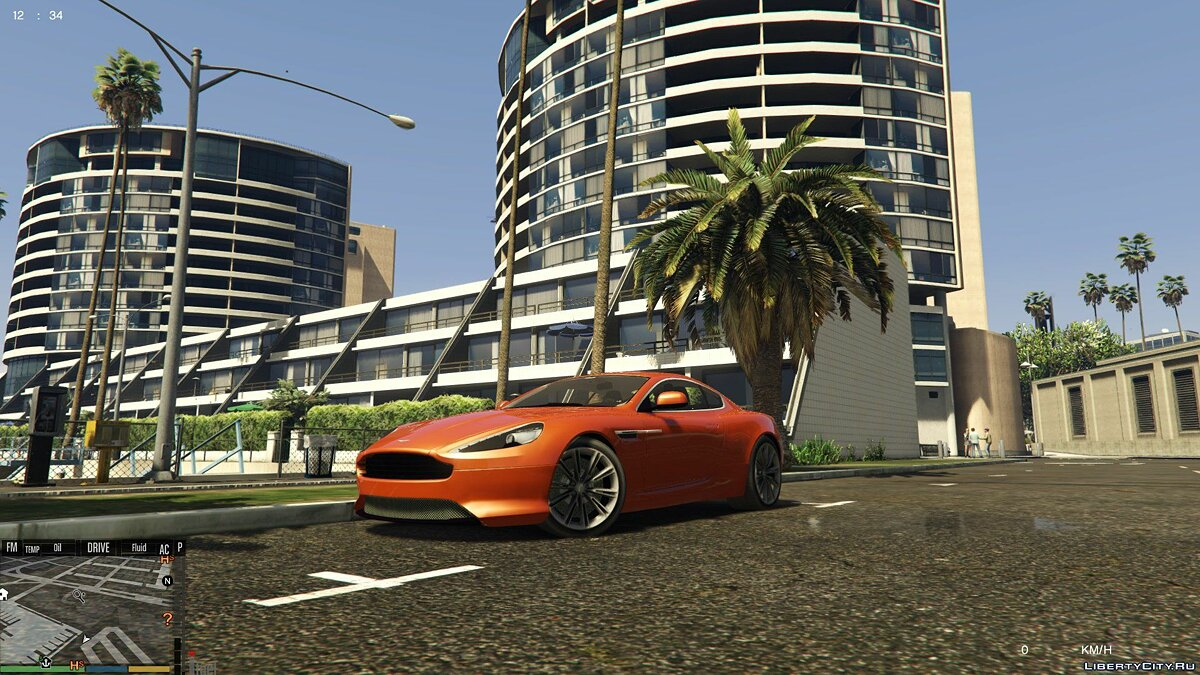 Aston Martin Virage 2010 для GTA 5 - скриншот #7