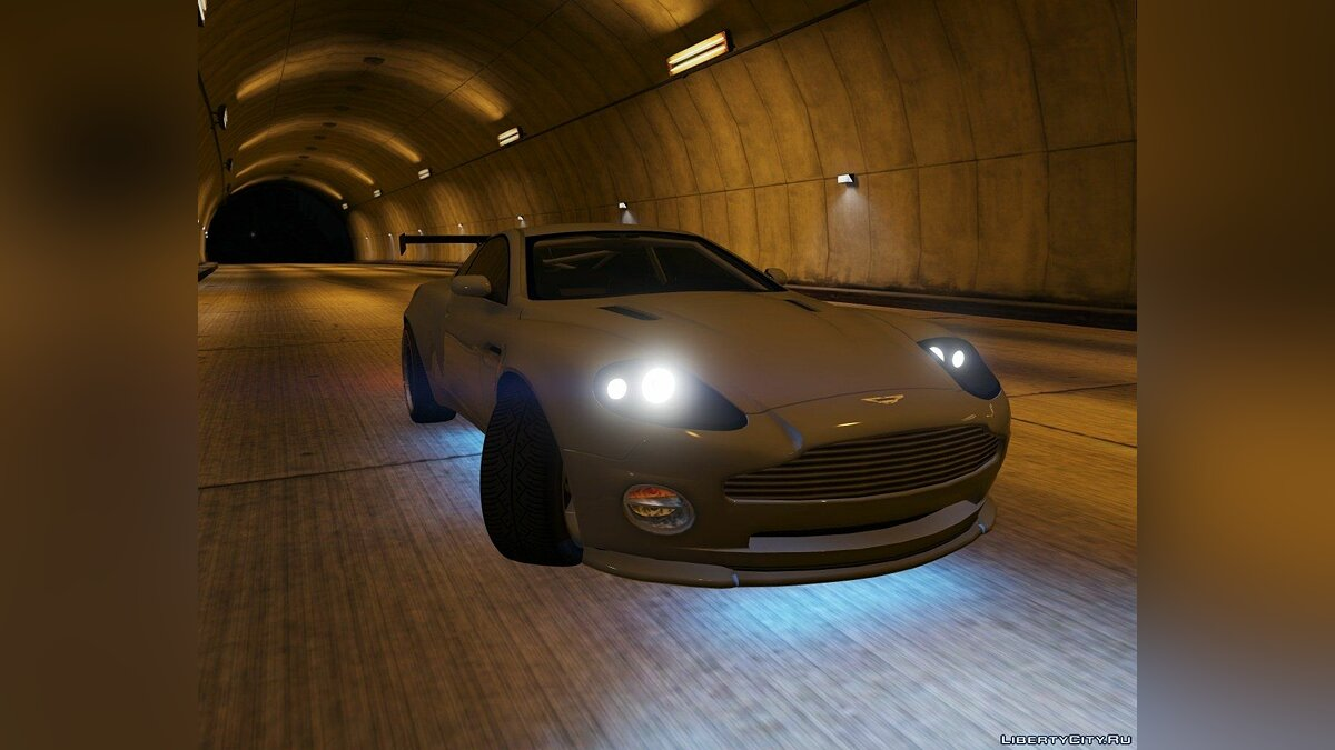 2001 Aston Martin V12 Vanquish [Add-On / Replace | Tuning] 1.0 для GTA 5 - скриншот #5