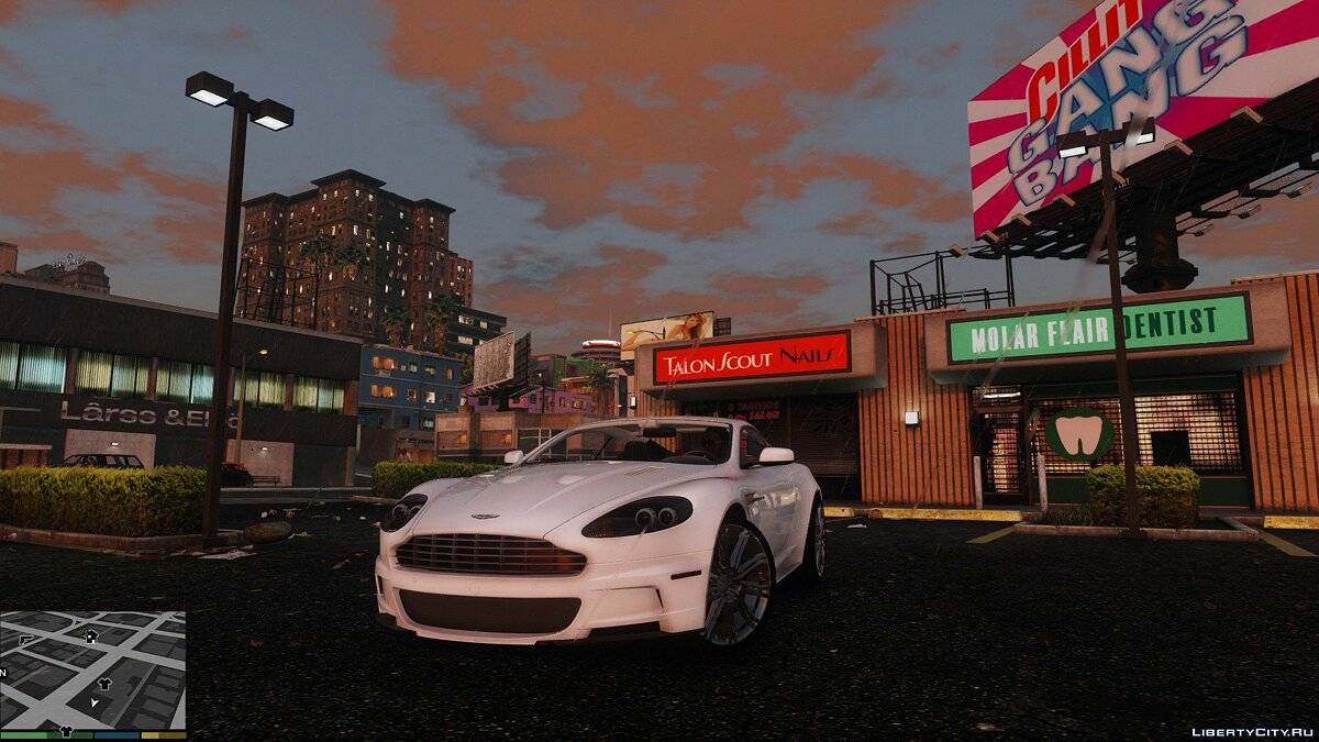 Aston Martin DBS 2009 (ADD-ON) v1.0 для GTA 5