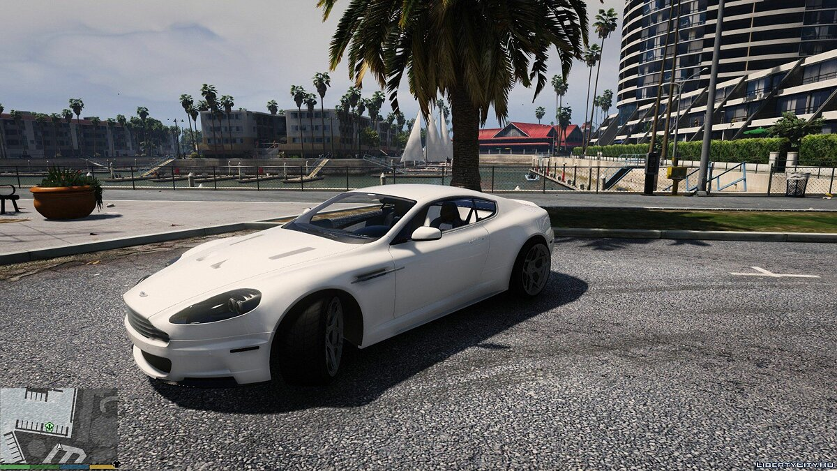 Aston Martin DBS 2009 (ADD-ON) v1.0 для GTA 5 - скриншот #3