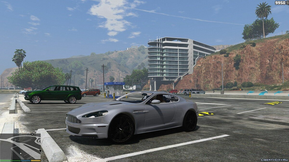 Aston Martin DBS 2009 (ADD-ON) v1.0 для GTA 5 - скриншот #8