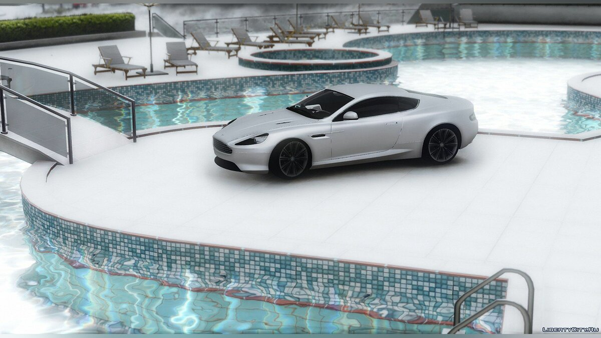 ��ашина Aston Martin Aston Martin Virage 2012 [Add-On] V1.1 для GTA 5